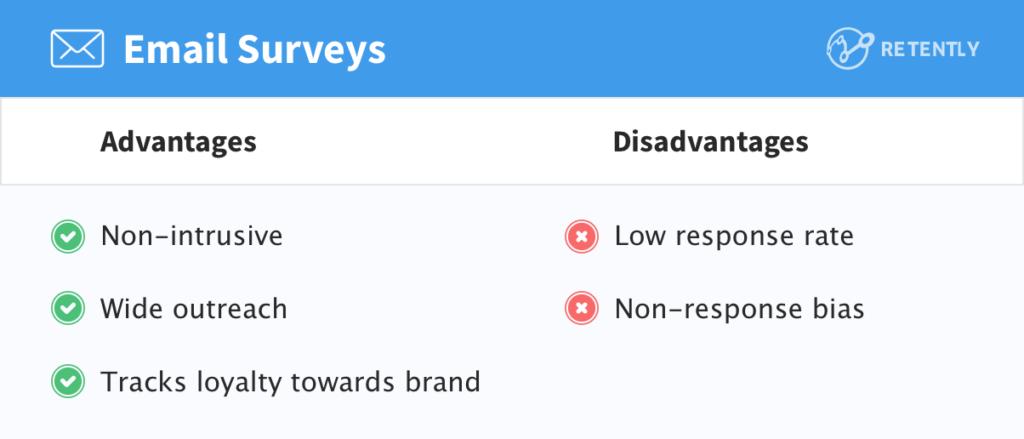 email-surveys-advantages-disadvantages